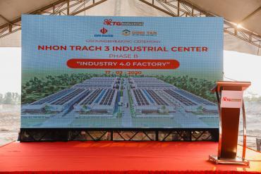 Lễ khởi công nhà xưởng Trung tâm công nghiệp Nhơn Trạch 3 - Giai đoạn 2