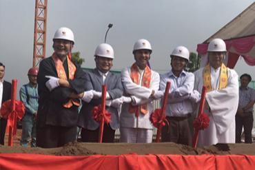 KTG Industrial tổ chức lễ động thổ xây dựng hai nhà máy tại Khu công nghiệp Yên Phong và Phố Nối A