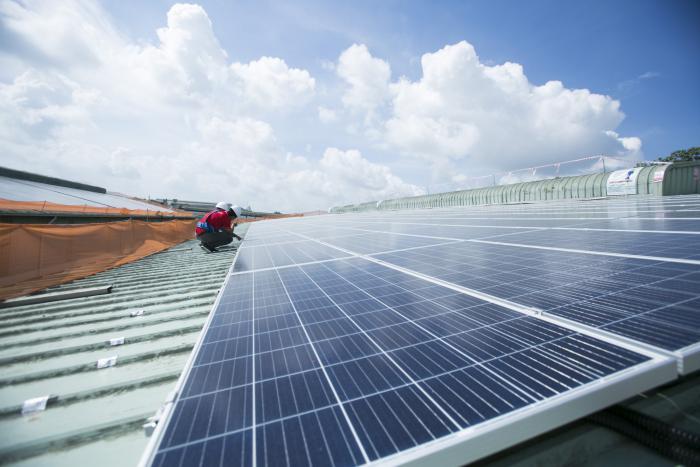 Lợi ích của điện năng lượng mặt trời trong bất động sản công nghiệp