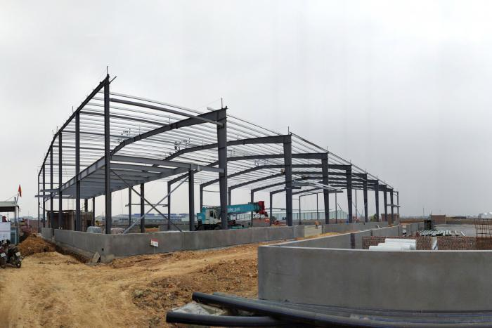 UPDATE THE CONSTRUCTION PROGRESS OF KTG BAC NINH INDUSTRIAL AND WAREHOUSE CENTER FOR PERIOD B - NOVEMBER 30TH, 2019