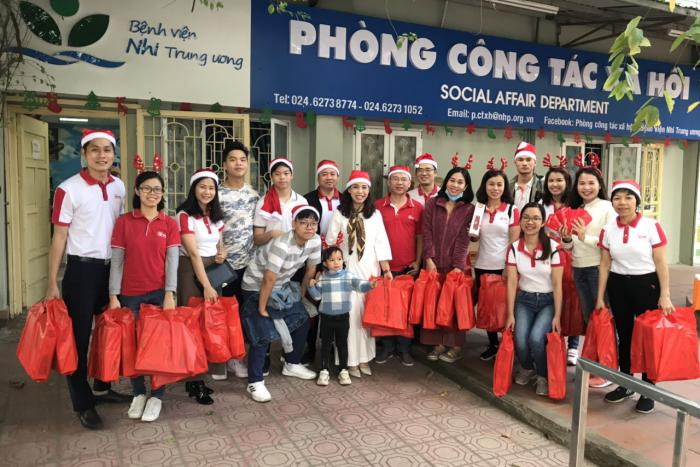 KTG BROUGHT WARMTH TO THE CHILDREN AT THE NATIONAL HOSPITAL OF PEDIATRICS ON CHRISTMAS 2019