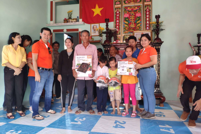 "KTG AWARDED ""LOVE HOUSE"" IN LONG AN, DONG THAP"