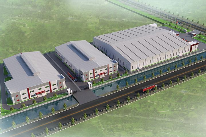 Cho thuê xưởng xây sẵn Khu công nghiệp Phố Nối A - Hưng Yên