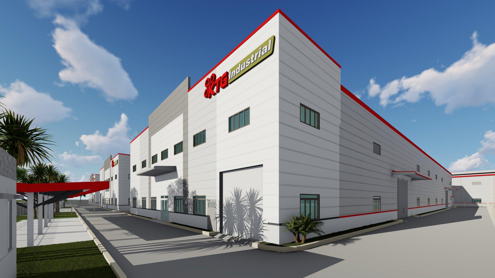 Cho thuê nhà xưởng khu công nghiệp Yên Phong - Bắc Ninh - Giai đoạn 2