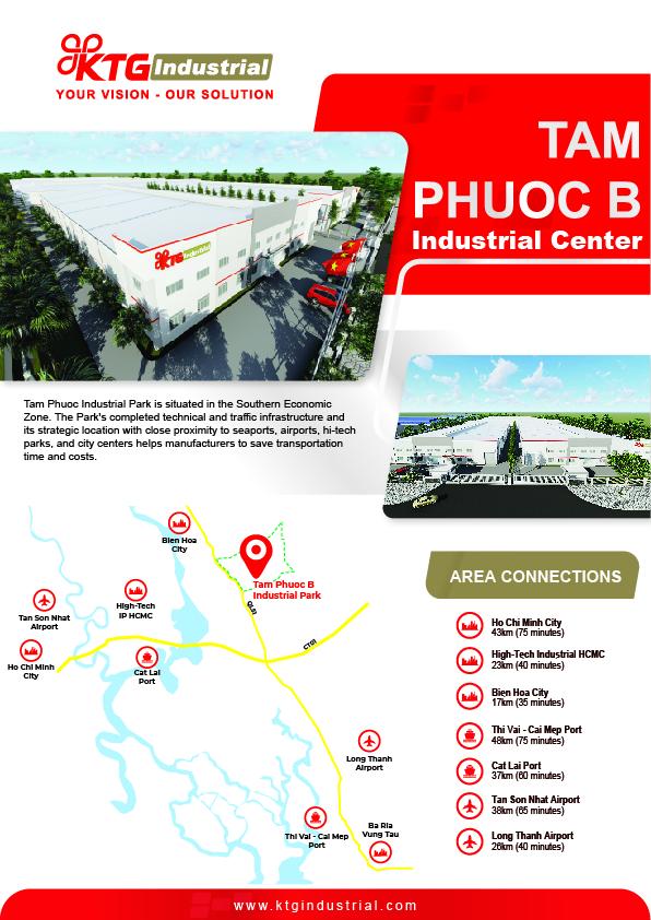 Leaflet Trung tâm Công Nghiệp Tam Phước B